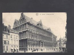 40 Gand - L'Hôtel De Ville - Postkaart - Gent