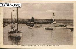 CPA  - SAINT-QUAY-PORTRIEUX - LA JETEE DU PORT - Saint-Quay-Portrieux