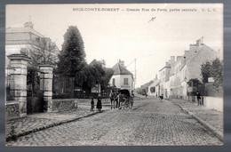 Brie Comte Robert: Grande Rue De Paris, Partie Centrale (ets Tilloux, Attelage) - Brie Comte Robert