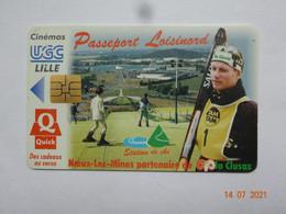 CARTE A PUCE CHIP CARD  CARTE FIDÉLITÉ  PASSEPORT LOISINORD 62 PAS-DE-CALAIS NOEUX-LES-MINES - Cartes De Fidélité Et Cadeau