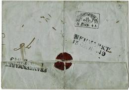 """1849, """" WIEN """" BRIEFS. - No.19 Klar  , A5114 - ...-1850 Prephilately"""