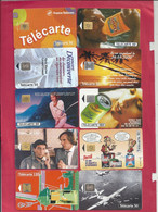 LOT 2  -  50 TELECARTES TOUTES DIFF.  5 SCANES - Sammlungen