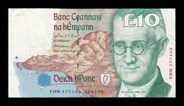 Irlanda Ireland 10 Pounds 13.01.1998 Pick 76b BC/MBC F/VF - Ireland
