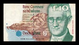Irlanda Ireland 10 Pounds 24.05.1999 Pick 76b BC/MBC F/VF - Ireland