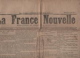 FRANCE NOUVELLE 23 05 1877 - GRECE CONFLIT ORIENTAL - TURQUIE - PREFETS - LAKANAL - AUTRICHE TURQUIE - PELERINAGE ROME - - 1850 - 1899