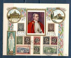 Vaticano / Vatican City Cartolina Maximum - Maximum Cards