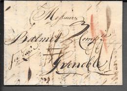 LETTRE DE ST GALL 1798 - 1701-1800: Vorläufer XVIII