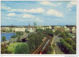 HAMBURG - Lombardsbrücke Und Kennedy Brücke , Eisenbahn, Zug , Train - Other