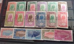 COTE DES SOMALIS 1925 - NEUF*/MH - Série YT 122 / 136 - CV 64 EUR - Nuovi