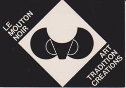 25 – LES GRANGETTES – Le Mouton Noir – PUBLICITE - Salon De Thé Et Expositions – Art Tradition Et Créations. Carte Neuve - Otros Municipios