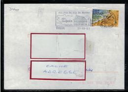 YT  3400  SSL FR  OBL FL  THEIX 31/10/01   A LA PORTE DU GOLFE - 1961-....