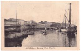 1935 SIRACUSA 1  DARSENA PORTO PICCOLO - Siracusa