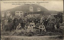 CPA Wahn Köln Nordrhein Westfalen, Verbündete Im Deutschen Gefangenenlager 1914, Kriegsgefangene - Andere