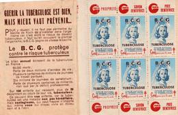 CARNET COMITE  NATIONAL DE DEFENSE CONTRE LA TUBERCULOSE. - Other