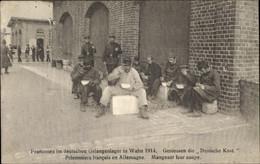 CPA Wahn Köln Nordrhein Westfalen, Franzosen Im Deutschen Gefangenenlager 1941, Kriegsgefangene - Andere