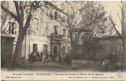 ~JP  ~  30  ~  TRESQUES  ~  Bureau De Poste Et Hotel De La Mairie ~ - Other Municipalities