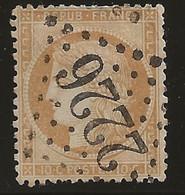 Marmande (Lot-et-Garonne) : Oblitération GC 2226 Sur Siège De Paris N°36. - 1849-1876: Periodo Clásico