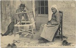 ~JP  ~  79  ~  SAINT HILAIRE La PALLUD    ~  Source YVONNE  ~  Paysanne Du Marais . Chatelet à Dévider  ~ - Altri Comuni