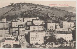 CPA Sartène (Corse)   Vue De Bogho  Sur La Cité Et Le Couvent Des Soeur St Joseph Ecrite Par Le Curé   Ed Porro - Sartene