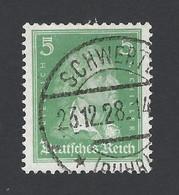 Deutsches Reich ★ Friedrich Von Schiller ★ Mi. 388 O VSt SCHWERTE 23.12.28 - Used Stamps