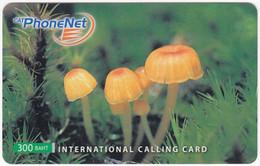 THAILAND I-768 Prepaid PhoneNet - Plant, Mushroom - Used - Thaïlande