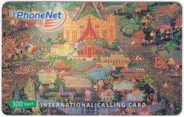 THAILAND I-770 Prepaid PhoneNet - Culture, Traditional Painting - Used - Thaïlande