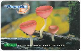 THAILAND I-772 Prepaid PhoneNet - Plant, Mushroom - Used - Thaïlande