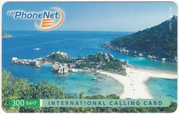THAILAND I-776 Prepaid PhoneNet - Landscape, Coast - Used - Thaïlande