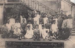554 – B&W PC - France Nancy (54) – Concours De Gymnastique 1911 – Condition: Torn Corner (see The 2 Scans) - Nancy