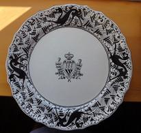 SAN MARINO Stemma Ceramica Decorata A Mano Luigi Masi 1940 - Altri