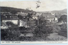 C. P. A. : Vaud : ARZIER : Vue Générale, Timbre En 1910 - VD Vaud