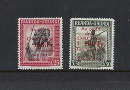 Ruanda Urundi - 151- 153  - Croix Rouge - 1944 - MNH**  Parfait  état Recto/verso - 1924-44: Neufs