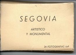 Leporello Spanien: Segovia - Artistico Y Monumental, 24 Bilder, Je Ca. 5,5 X 9,5 Cm, - Segovia