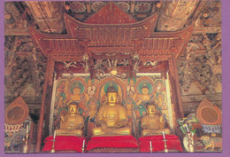 South Korea - Buddha's In Meditation At Chontung-sa Temple In Kangwa Island - Corea Del Sud