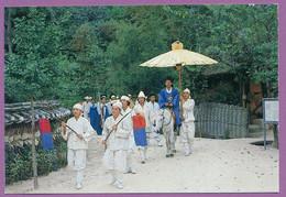 South Korea - Wedding Ceremony (sinhaeng) - Korean Folk Village - Corea Del Sud