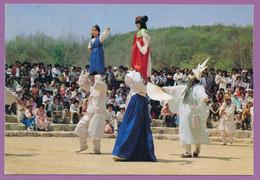 South Korea - Masque Dance Of Bulk Chung - Korean Folk Village - Corea Del Sud