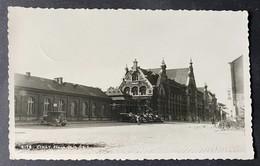 Ciney Place De La Gare/ Old Cars/Fotokarte - Ciney