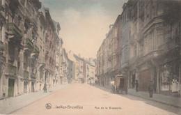 Ixelles - Bruxelles - Rue De La Brasserie ,( COULEUR , Charrette De Brasseur Brouwerij Bière Bier - Ixelles - Elsene