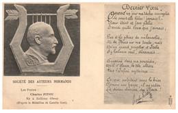 61 BELLEME -Société Des Auteurs Normands - Charles PITOU Né à Bellème - Autres Communes
