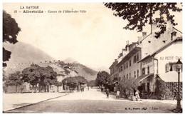 73 ALBERTVILLE - Cours De L'hotel De Ville - Albertville