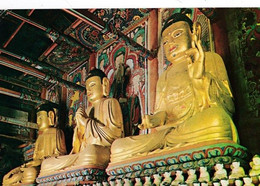 Corée Du Sud  Buddha's Images  In Three Forms, Kung Ju   BE - Corea Del Sud