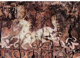 """Corée Du Sud  Flying Horse Painted On Birch-bark  Plates (Old Silla) """"chevaux Volants Peints Sue écorce De Bouleau"""" - Corea Del Sud"""
