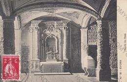 CARTOLINA  EVORA,PORTOGALLO,CAPELLA DES OSSOS,VIAGGIATA 1913 - Evora