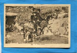 Type CORSE -berger à Cheval  Beau Plan-a Voyagé En 1933 Cahet Erbalunga- - Andere Gemeenten