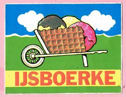 Sticker - IJSBOERKE - Tielen - Stickers