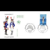 FDC JF - Garde Impériale - Grenadier à Pied - 26/6/2004 Paris - 2000-2009