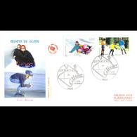 FDC JF - Sports De Glisse - Luge / Roller - 3/7/2004 Paris - 2000-2009
