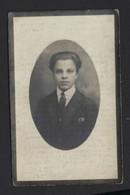 MAURICE JOSEPH UITWEG * GENT OVERLEDEN OP 18 JAAR * 1929 * FOTO * DRUK KAREL VAN MELLE BURGSTRAAT GENT - Obituary Notices