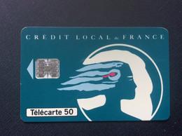 TELECARTE 50 Unites  CREDIT LOCAL De FRANCE  En 955 - 50 Unidades