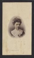 ALICE VAN RUYMBEKE * ° GENT 1881 + BRUGGE 1904 * PHOTOTYPIE HEMELSOET GAND * FOTO * 2 SCANS - Avvisi Di Necrologio